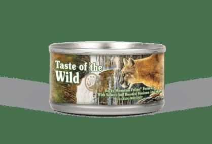 Taste of the Wild - Rocky Mountain Feline Formula Wet Cat Food Can