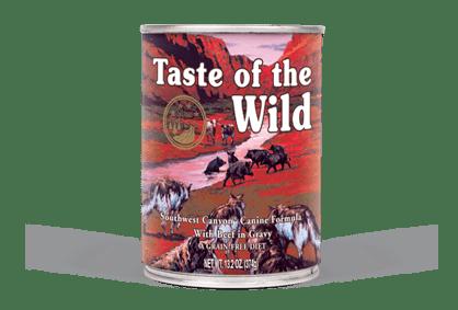 Taste of the Wild - Southwest Canyon Canine Formula Wet Dog Food Can