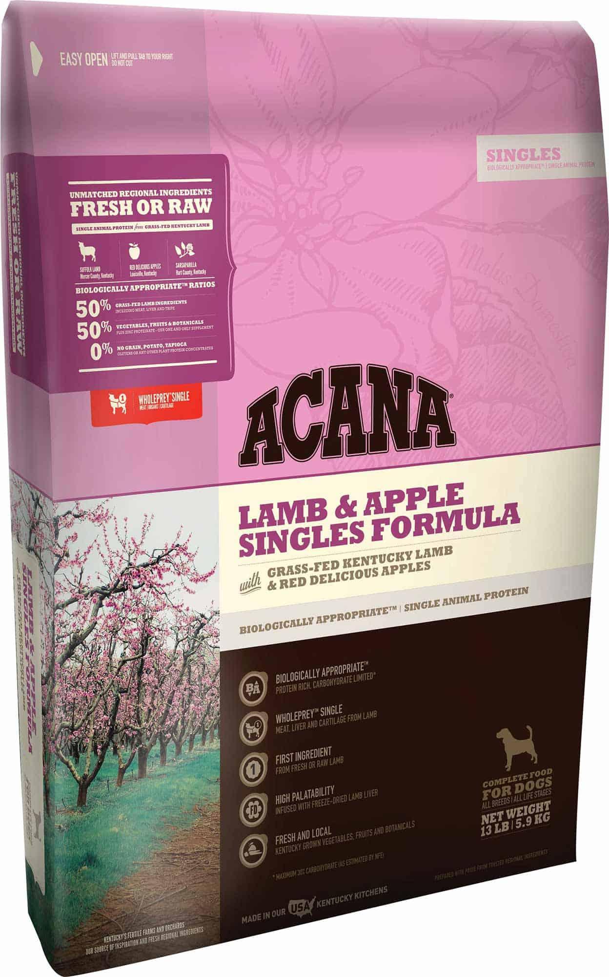Lamb And Apple Dry Dog Food