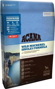 Acana Singles - Wild Mackerel Packaging