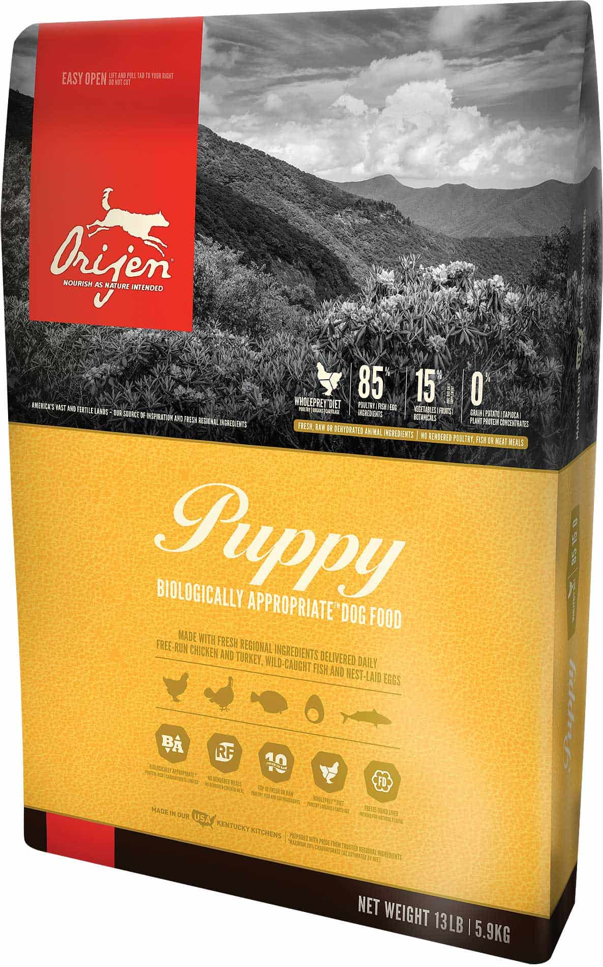 Orijen Puppy Review Dry Puppy Food Pet Food Reviewer