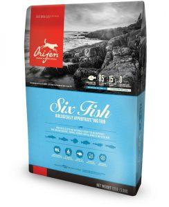 Orijen Six Fish Packaging