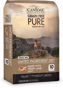 Canidae Grain Free Pure - Elements Packaging