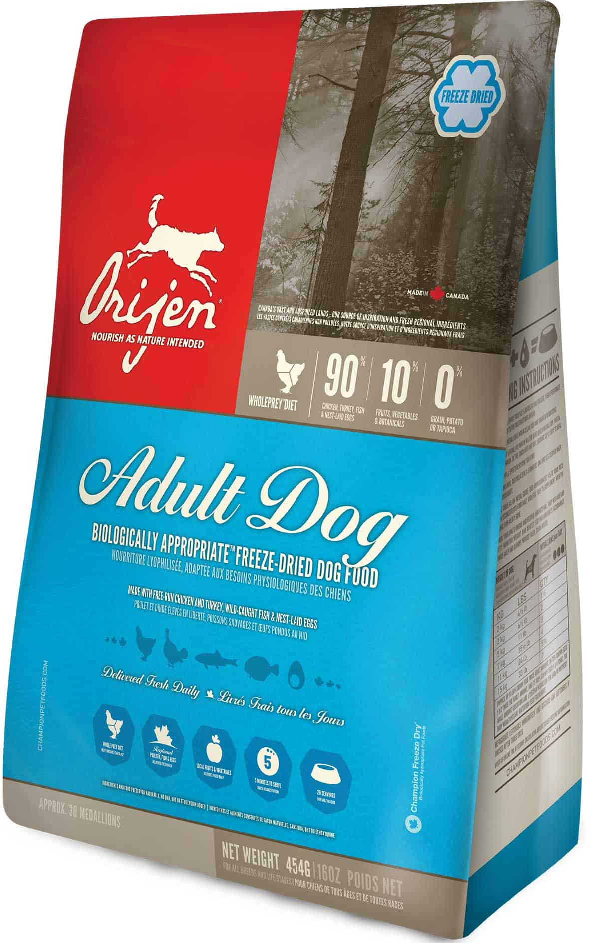 Orijen Adult Dog Food Review