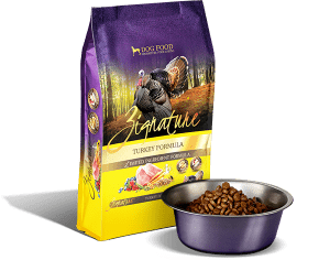Zignature Turkey Formula Packaging