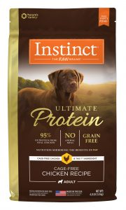 Nature's Variety Instinct Ultimate Protein Chicken Packaging