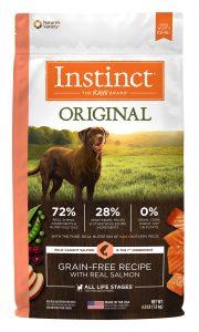 Nature's Variety Instinct Original Salmon Packaging