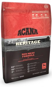 Acana Heritage Red Meat Packaging