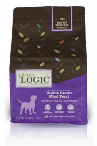 Nature's Logic Canine Rabbit Meal Feast Packaging