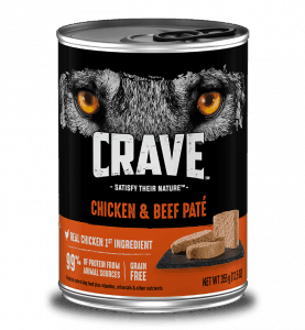 Crave Chicken & Beef Pate Can