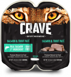 Crave Salmon & Trout Pate Packaging