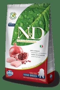Farmina N&D Chicken & Pomegranate Puppy Maxi Packaging