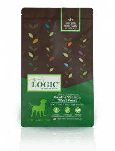 Nature's Logic Canine Venison Meal Feast Packaging